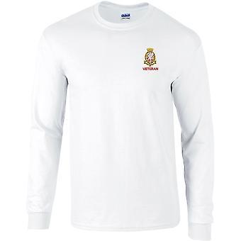 Royal Wessex Yeomanryregimenter veteran-lisensiert britisk hær brodert langermet T-skjorte
