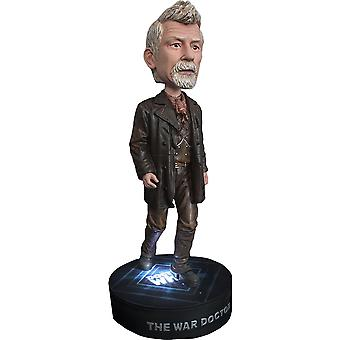 Doctor Who the War Doctor with Light Base Bobble Head