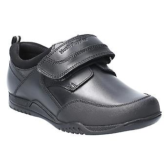 Hush Puppies Junior Noah Leather Slip On School Shoes