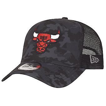 Nowa era regulowana Moro Trucker Cap - Chicago Bulls ciemności