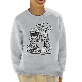 Grimmy Ready For Bed Kid's Sweatshirt