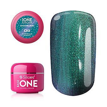 Base one Chameleon-Emerald night 5 g UV-gel