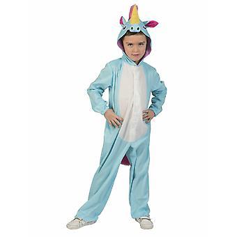 Unicorno Blu Ragazzo Bambini Costume Unicorno FataMente Ragazzi Complessivamente Bambini Travestimento Carnevale