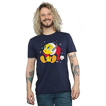 Looney Tunes Men's Christmas Tweety T-Shirt