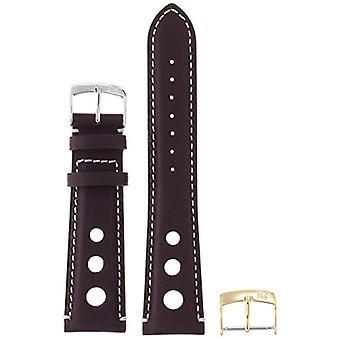Morellato black leather strap 24 mm Brown unisex GIOTTO A01U3222679834CR22