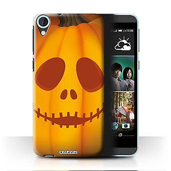 STUFF4 Case/Cover for HTC Desire 820s Dual/Ghost/Halloween Pumpkin