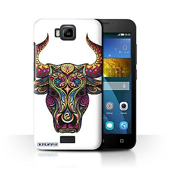 STUFF4 Case/Cover for Huawei Honor Bee/Y5c/Bull/Ornamental Animals