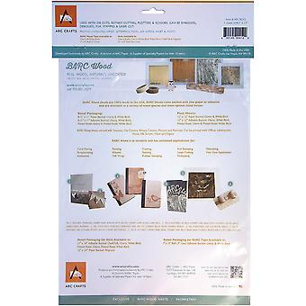 BARC Wood Sheet W/Adhesive Backing 8.5