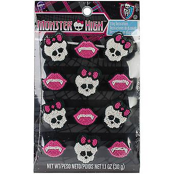 Icing Decorations 12 Pkg Monster High W7106677