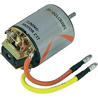 Modelcraft Tuning Electric motor 7.2 Vdc Idle speed 20731 rpm turns 21