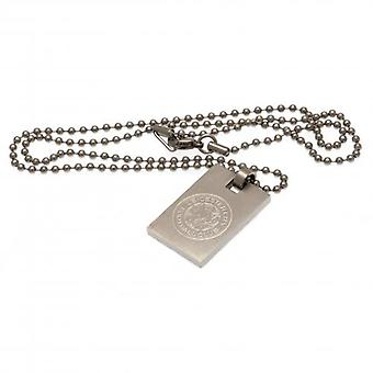 Leicester City Dog Tag & Chain