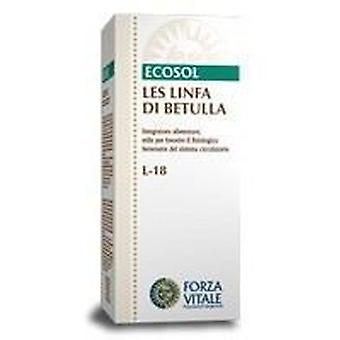 Forza Vitale Les Lymph Lymph Betulla Di Birch 50Ml. (Herbalist's , Natural extracts)