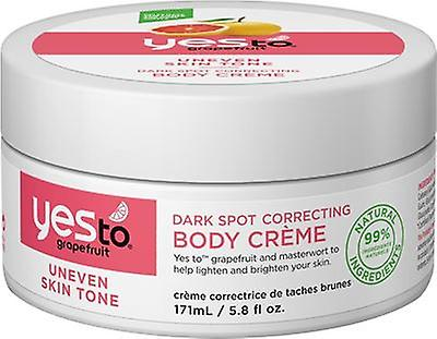 Yes To Grapefruit Dark Spot Correcting Body Creme