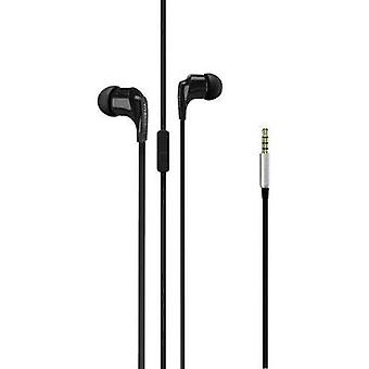 Auriculares Vivanco Talk 4 In-ear auriculares negro