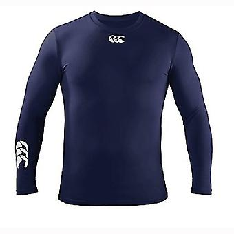 Cold Long Sleeve Baselayer Kids - Navy