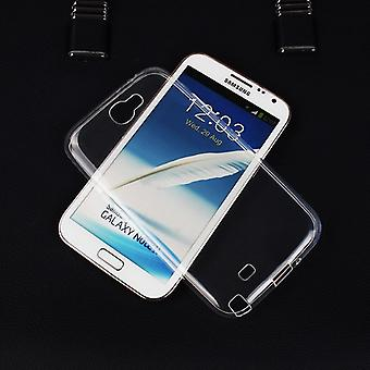 Samsung Galaxy touch 2 N7100 transparent fodral cover silikon