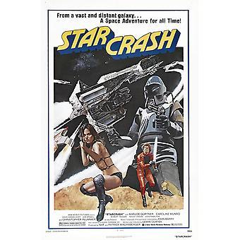 Starcrash Us Poster From Left Caroline Munro Marjoe Gortner 1978  New World PicturesCourtesy Everett Collection Movie Poster Masterprint