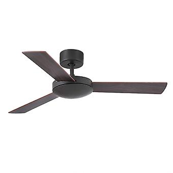 Faro ceiling fan Mini Mallorca dark brown 106 cm / 42""