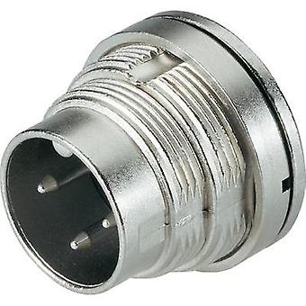 Binder 09-0107-80-03 Series 723 Miniature Circular Connector Nominal current: 7 A Number of pins: 3 DIN
