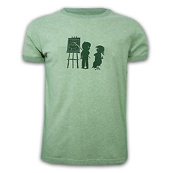 Mens Offside Melee Basic T - Green 85% cotton - 15% Acryl