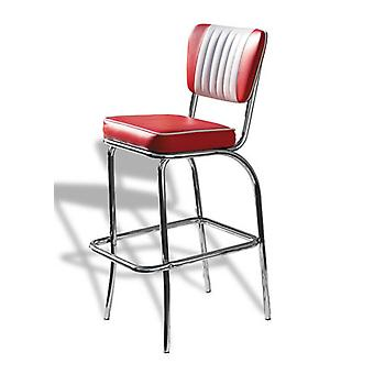 Chicago Diner Retro keuken Bar Stool gepolsterde zitting en rugleuning