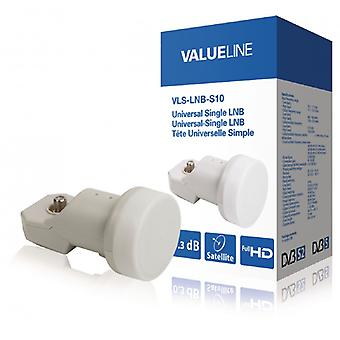 ValueLine Universal Single LNB 0.3 dB