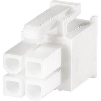 Socket enclosure - cable VAL-U-LOK Total number of pins 4 TE Connectivity 1586019-4 Contact spacing: 4.20 mm 1 pc(s)