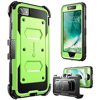 iPhone 7 Case,i-Blason [Armorbox Case] built in Screen Protector, Apple iPhone 7-Green