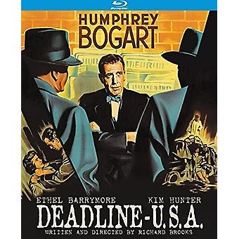 Deadline U.S.a. (1952) [Blu-ray] USA import