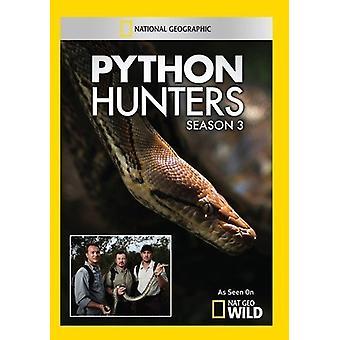 Python Hunters Season 3-(2 Discs) [DVD] USA import