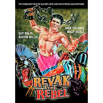 Revak de Rebel [DVD] USA importeren