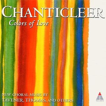 Chanticleer - farver af kærlighed [CD] USA importerer
