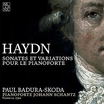 J. Haydn - Haydn: Sonates Et variationer Pour Le Pianoforte [CD] USA import