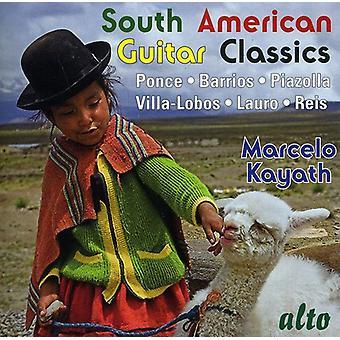Marcelo Kayath - sydamerikanske Guitar Classics [CD] USA import