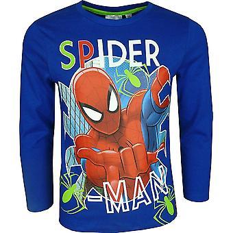 Marvel Spiderman мальчиков с длинным рукавом Футболка