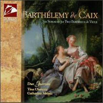 Duo Guersan - Barthelemy De Caix: Six Sonatas for Two Pardessus & Viole [CD] USA import