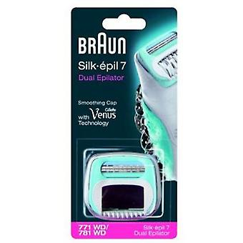 Braun From head to epilator shaver 781S (Woman , Esthetics , Hair removal , Hair remover)