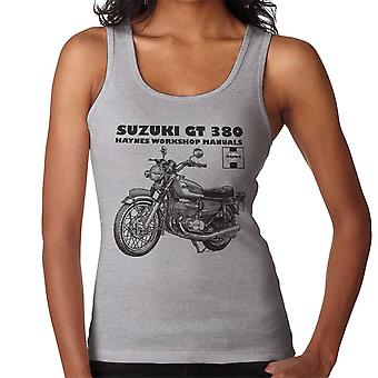 Haynes Owners Workshop Manual Suzuki GT 380 Triple vrouwen Vest