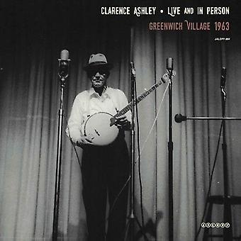 Clarence Ashley - vivo & en persona: importación de Greenwich [vinilo] Estados Unidos
