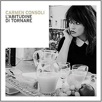 Carmen Consoli - L'Abitudine Di Tornare [CD] USA import