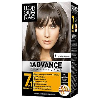 Llongueras Advance Hair Color Colour # 3-Dark Brown