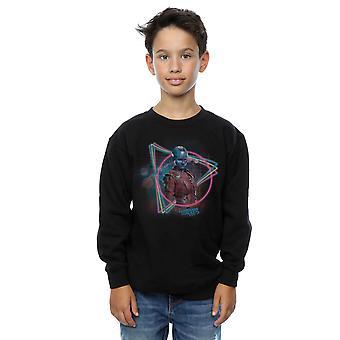 Merveille garçons gardiens de la galaxie Neon nébuleuse Sweatshirt