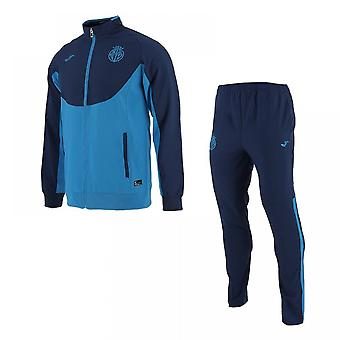 2017-2018 Villarreal Joma Official Tracksuit (Blue)