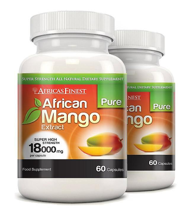 Africa's Finest Pure African Mango 18,000mg - 120 Capsules - Dietary Supplement - Evolution Slimming