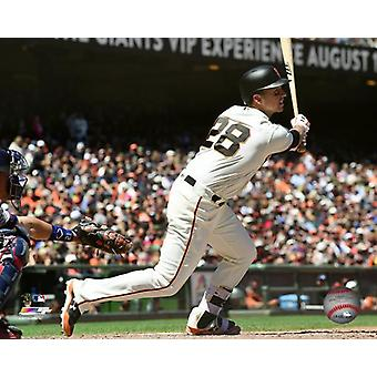 Buster Posey 2017 Action Photo Print