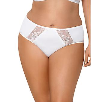 Gorsenia K358 Women's Blanca Ecru Cream Knickers Panty Brief
