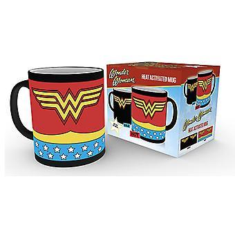 DC Comics Wonder Woman Costume Heat Changing Mug