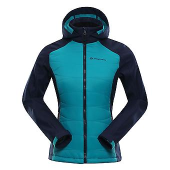 Alpine Pro Lady jacket PERKA black/turquoise