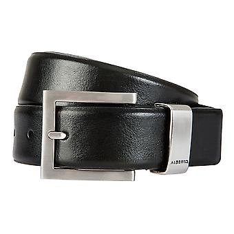 ALBERTO belts men's belts men's leather belts black 1501