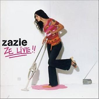 Zazie - Ze Live [CD] USA import